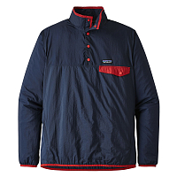 Patagonia M'S HOUDINI SNAP-T P/O Stone Blue w/Neo Navy