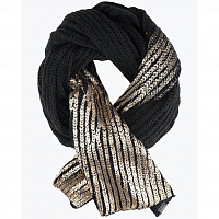 Nixon BLINDED BY SCARF BLACK/GOLD