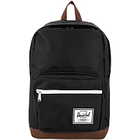 Herschel Pop Quiz Black/Tan Synthetic Leather