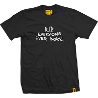 VOL4 RIP TO EVERYONE TEE BLACK