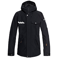 Quiksilver IN THE HOOD JK M SNJT BLACK