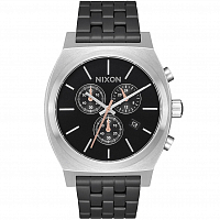 Nixon TIME TELLER CHRONO Black/Steel