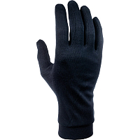 CAIRN SILK GLOVES M BLACK