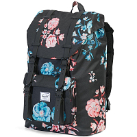 Herschel Little America Mid-Volume Pastel Petals/Black Rubber