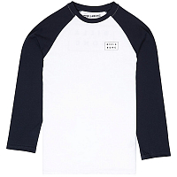 Billabong DIE CUT TEE LS BOY White