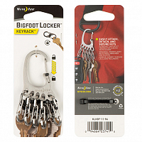 Nite Ize BIGFOOT LOCKER KEYRACK ASSORTED