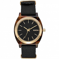 Nixon Time Teller Acetate Tortoise/Black