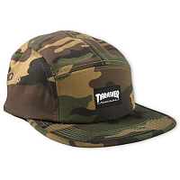 THRASHER 5-PANEL CAP CAMO