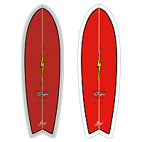 YOW PIPE POWER SURFING SERIES DECK ASSORTED