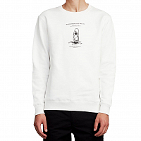 Makia LESSON SWEATSHIRT White