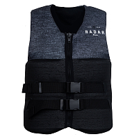 Ronix ENCORE - CGA LIFE VEST BLACK / HEATHER GREY