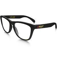 Oakley FROGSKINS FRAME POLISHED BLACK w/VR46 STEMS