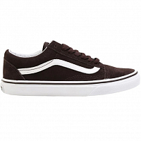 Vans OLD SKOOL (SUEDE) MOLE/TRUE WHITE