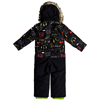 Quiksilver Rookie Kids SUI K Snsu BLACK_MAOAM TATT
