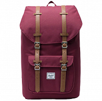 Herschel Little America WINDSOR WINE/TAN SYNTHETIC LEATHER