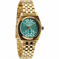 Nixon Small Time Teller GOLD/BLUE/BEETLEPOINT