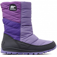 SOREL CHILDREN'S WHITNEY MID Paisley Purple,