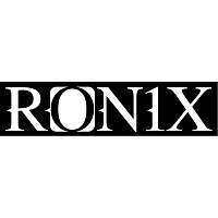 Ronix LOGO DIE CUT BLACK