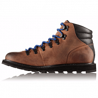SOREL MADSON HIKER WATERPROOF Elk, Black