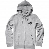 Nixon OXFORD FULL ZIP HOODIE Heather Gray