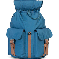 Herschel DAWSON WOMENS INDIAN TEAL/TAN SYNTHETIC LEATHER