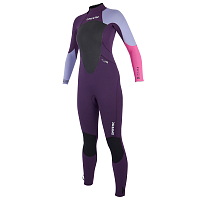 Mystic STAR FULLSUIT 3/2MM BZIP WOMEN PURPLE