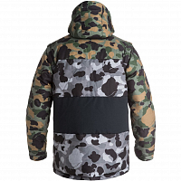 DC DOWNHILL Jkt M SNJT K CAMOUFLAGE LODGE MEN