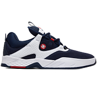 DC KALIS S M SHOE NAVY/WHITE