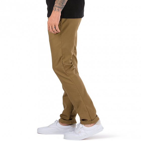 Брюки VANS MN AUTHENTIC CHINO STRETCH SS17 от Vans в интернет магазине www.traektoria.ru - 3 фото