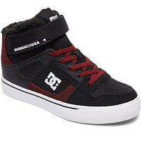 DC SPRTN HI WNT EV B SHOE BLACK/DARK RED