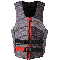 Ronix KINETIK ARMOR FOAM - IMPACT JACKET HEATHER / BLACK / CAFFEINATED