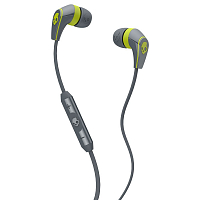 Skullcandy 50/50 w/Mic3 Gray/Hot Lime
