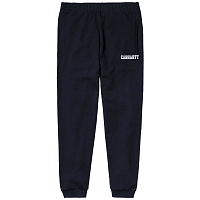 Carhartt WIP COLLEGE SWEAT PANT DARK NAVY / WHITE