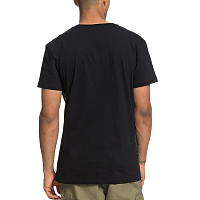 DC NOSED UP SS M TEES BLACK