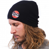 Celtek PATCHED UP BEANIE BLACK