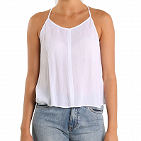Rusty DRIFTWOOD SLEEVELESS SHIRT WHITE