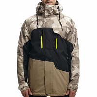 686 AUTHENTIC GEO INSULATED JACKET KHAKI CAMO CLRBLK