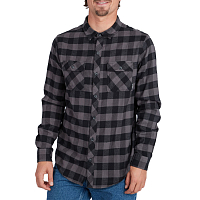 Billabong ALL DAY FLANNEL LS S BLACK