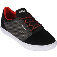 DVS STRATOS LT+KIDS BLK RED SUEDE