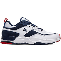 DC E.TRIBEKA M SHOE WHITE/RED/BLUE