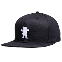 Grizzly OG BEAR SNAPBACK Black / White