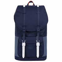 Herschel Little America Peacoat/Navy/Vermillion Orange