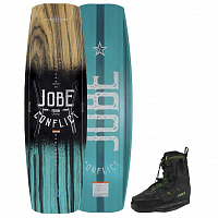 Jobe CONFLICT WAKEBOARD 142 & NITRO SET ASSORTED