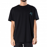 Rusty BOULEVARD SHORT SLEEVE TEE BLACK
