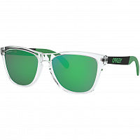 Oakley FROGSKINS MIX POLISHED CLEAR/Prizm Grey w/ Jade Iridium + OLEO (