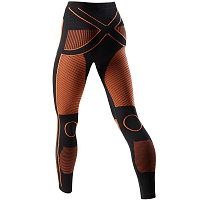 X-Bionic XB LADY EN_ACCUMULATOR UW PANTS LONG BLACK/ORANGE