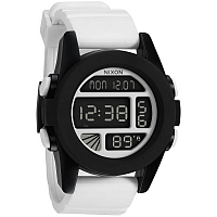 Nixon Unit WHITE/BLACK