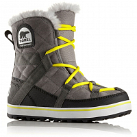 SOREL GLACY EXPLORER SHORTIE QUARRY