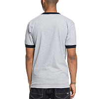 DC SKATE RINGER TE M TEES GREY HEATHER