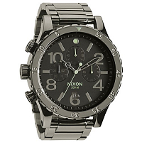 Nixon 48-20 Chrono POLISHED GUNMETAL/LUM